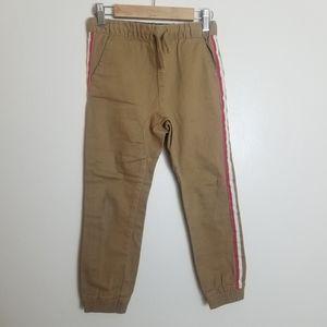 Epic Threads Boys Twill Khaki Joggers Tan 6